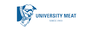 University Meat banner